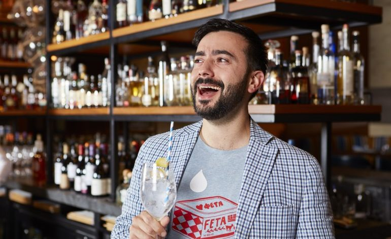 "The Greek Spirit Runs Wild In Johnny Livanos' ""Stray Dog Wild Gin"""