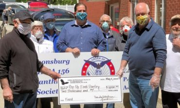 Covid-19 Donations by AHEPA Chapters of Canonsburg, Pa and Trenton, N.J