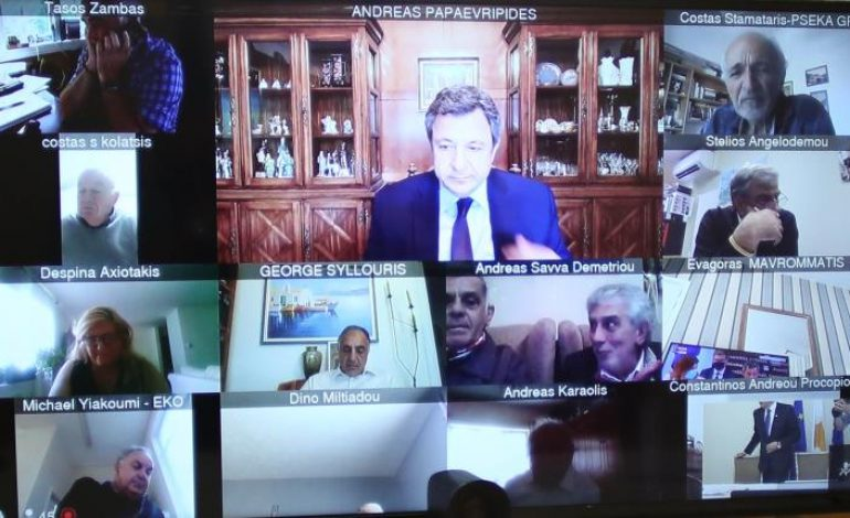 World Conference of Overseas Cypriots (POMAK) held via teleconference