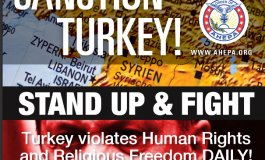 AHEPA calls for the continuation of boycott of Turkey and Turkish products and the call for Sanctions from our elected officials.