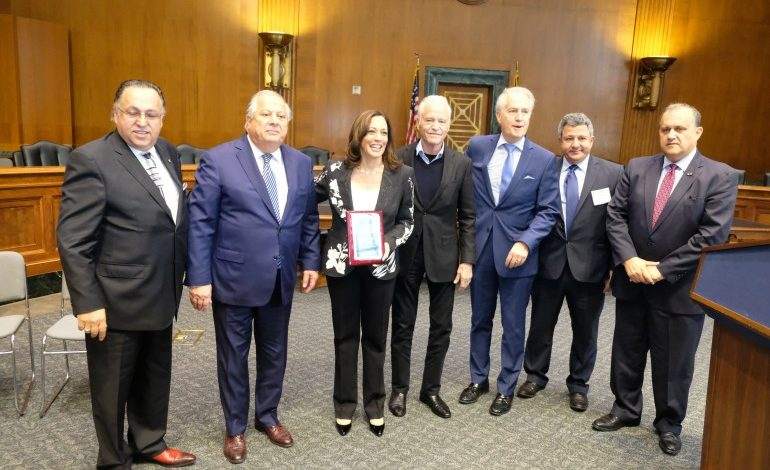 Joe Biden's running mate Senator Kamala Harris was honored at the PSEKA Conference