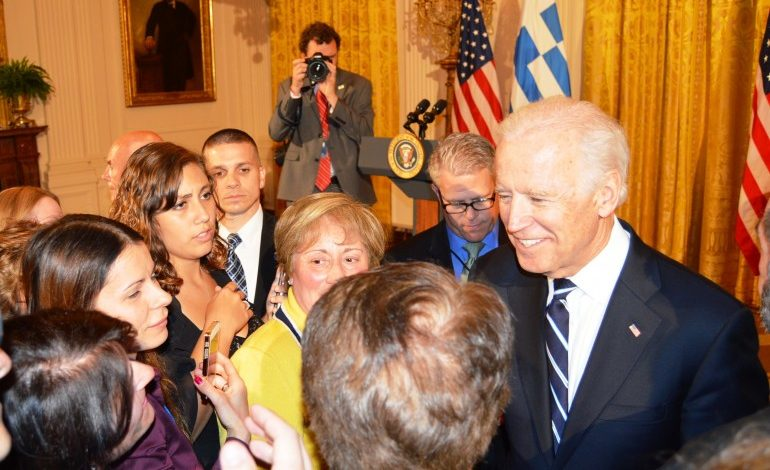 Joe Biden position on Greek – Americans and U.S. – Greece relations