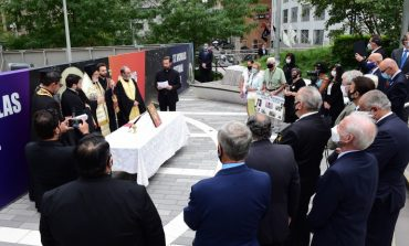 Memorial service for the Greek Orthodox perished on 9/11