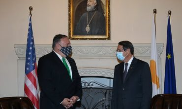 Cyprus government satisfied with the results of deliberations with Pompeo, FM Christodoulides tells CNA