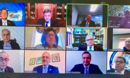 Leaders of Cyprus and Greece, key members of Congress, with Greek and Jewish American Community leaders at the PSEKA webinar for Cyprus Independence 60th Anniversary
