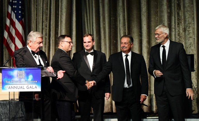 The Hellenic Initiative awards $25K to  successful firms making an impact in society