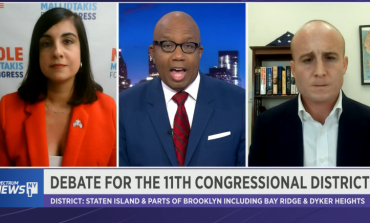 Max Rose - Nicole Malliotakis: A Debate of Insults Ends in Stalemate