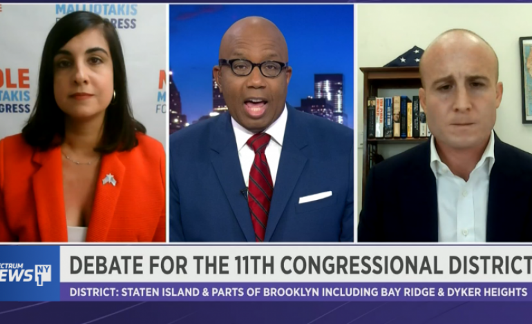 Max Rose – Nicole Malliotakis: A Debate of Insults Ends in Stalemate