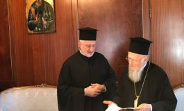 "Elpidophoros considers ""blessing"" the suspension by the Patriarchate of the   Charter of the Archdiocese"