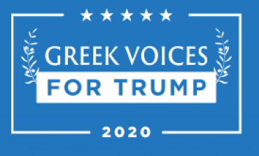 """Greek Voices for Trump"" organization on what the President has done for Greek issues"