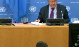 Guterres announced that Lute began consultations for new Cyprus meeting
