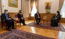 "Ecumenical Patriarchate calls ""historic"" the visit of Secretary of State Mike Pompeo at the Fanar"