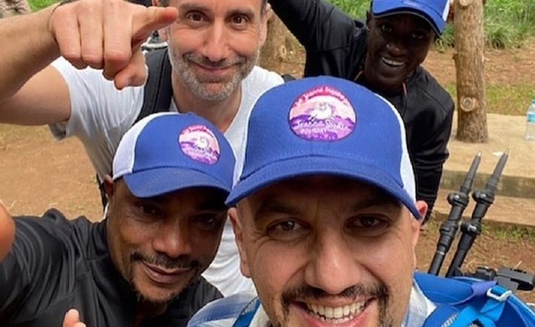 Paphian Costa Ioannou and George Isaakides Climbed Mount Kilimanjaro in Memory of Joanna Sophia Ioannou
