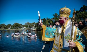 115th Annual Epiphany Celebration in Tarpon Springs, Florida