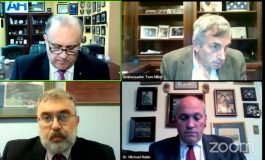Foreign Policy Experts Share views on the Biden Administration in the EastMed, during an AHI Webinar