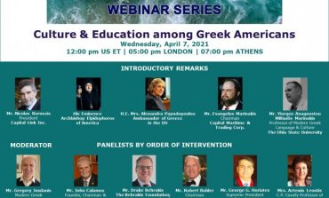 "Capital Link Webinar: ""Culture and Education among Greek Americans"""