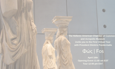 Hellenic-American Chamber of Commerce takes a virtual tour  of the Acropolis Museum