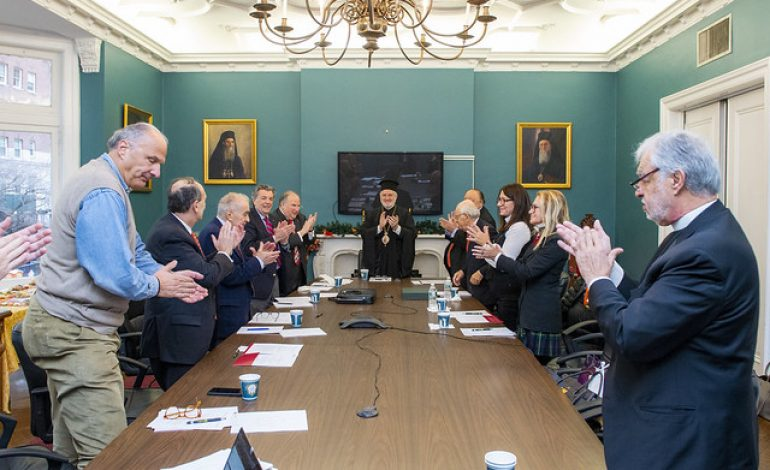 Leadership 100, AHEPA, Join Ecumenical Patriarch Bartholomew Foundation as  Institutional Founding Members